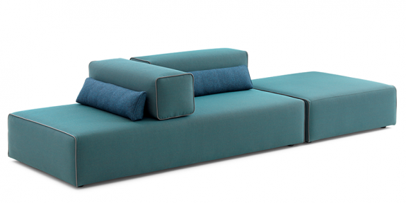 Design Sofa Ponton Next by Leolux