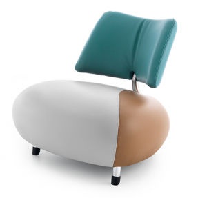 Design Armchair Pallone by Leolux